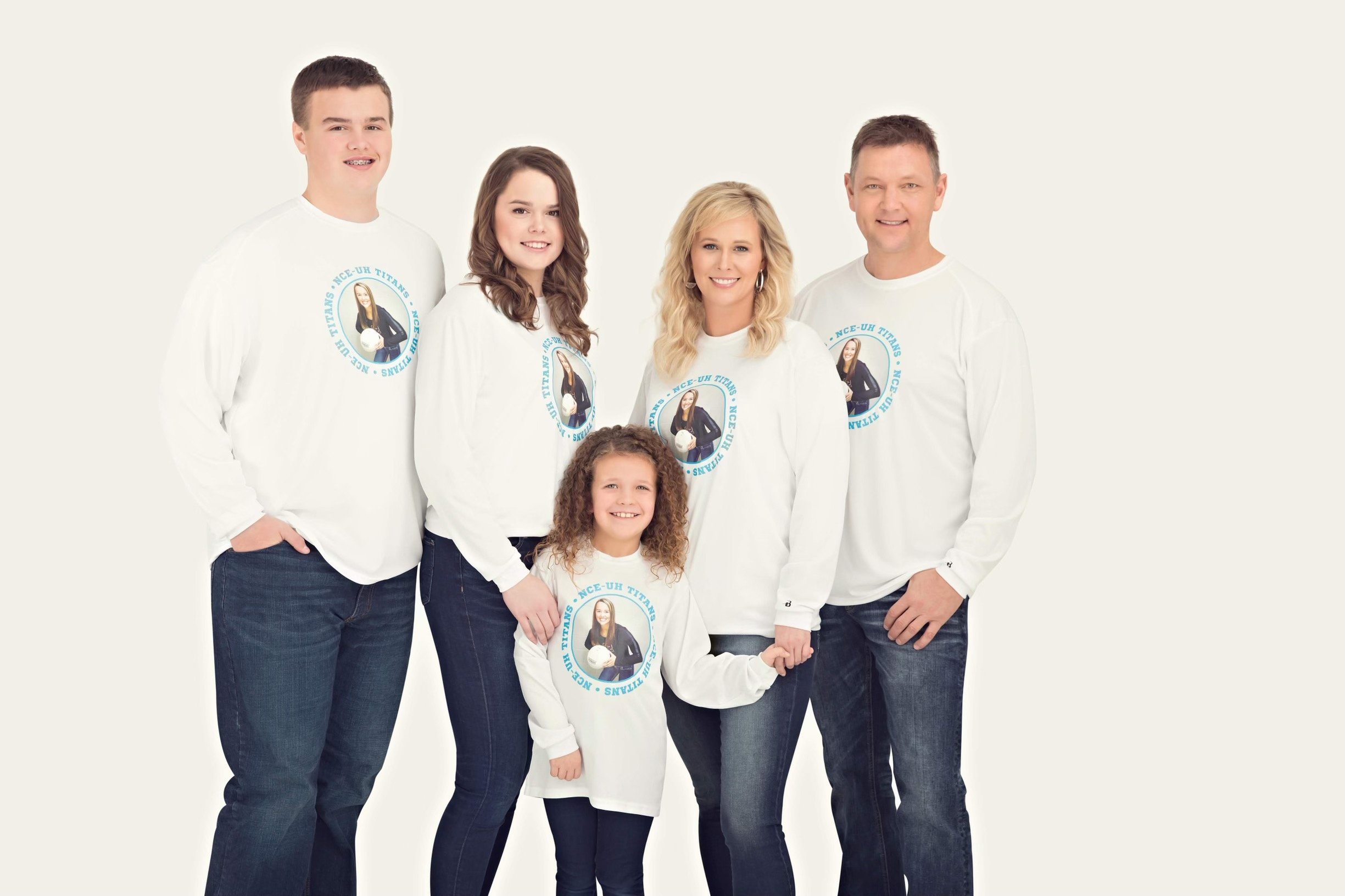 Chris Nelson with family